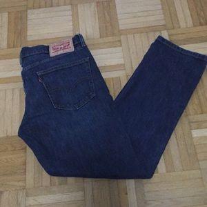 Levi 511 straight leg jeans 33x30
